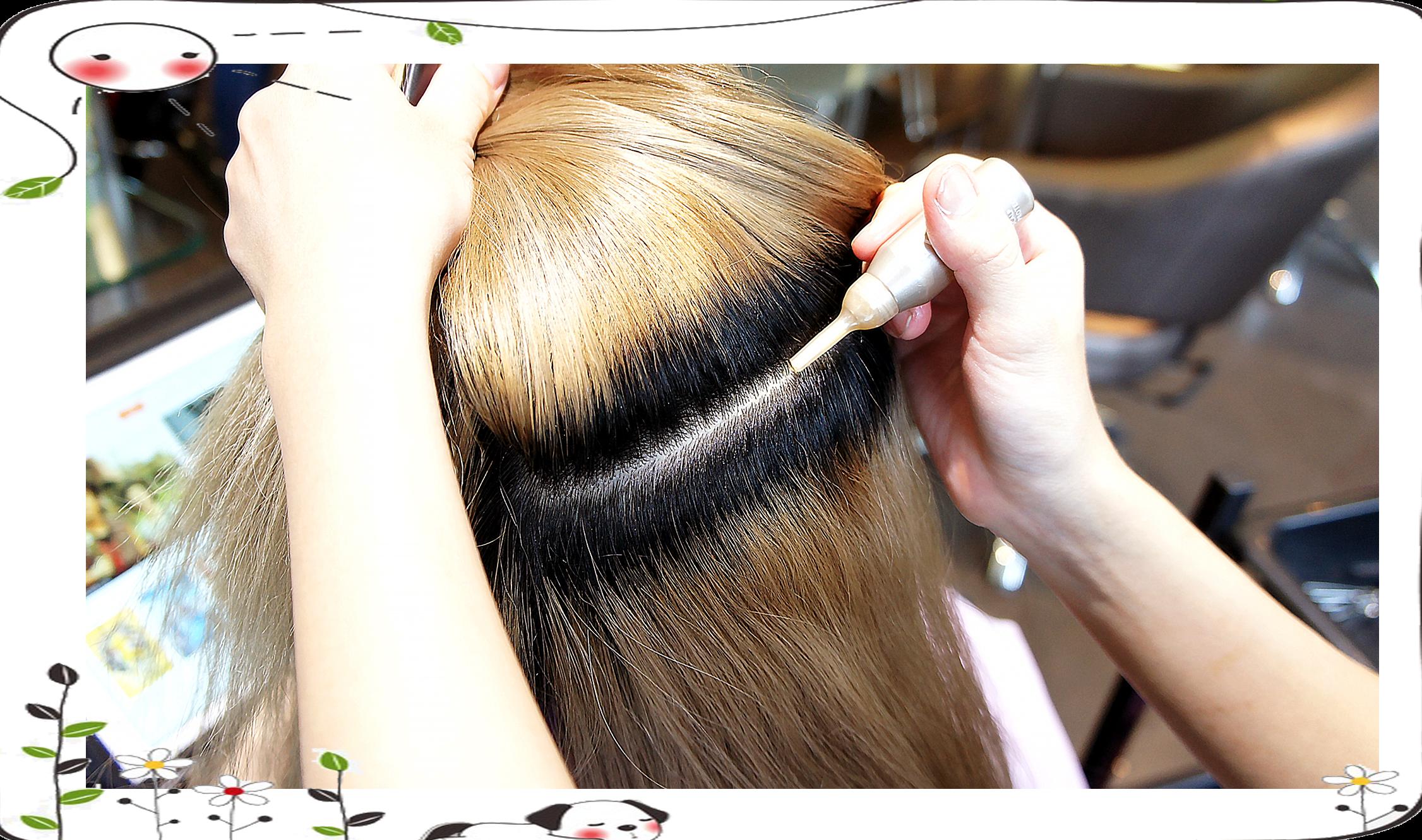台中染髮、頭皮隔離、夏森髮型