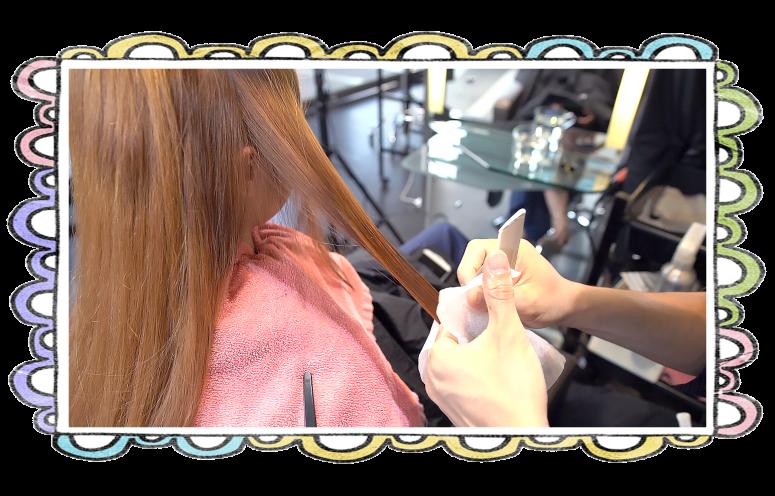 台中燙髮、上捲子、夏森髮型