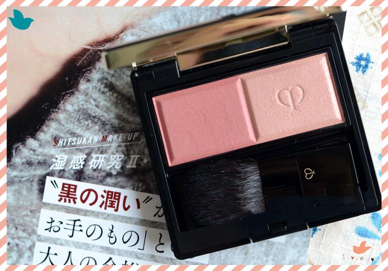 CPB雙色腮紅、日系彩妝、花樣妍彩餅